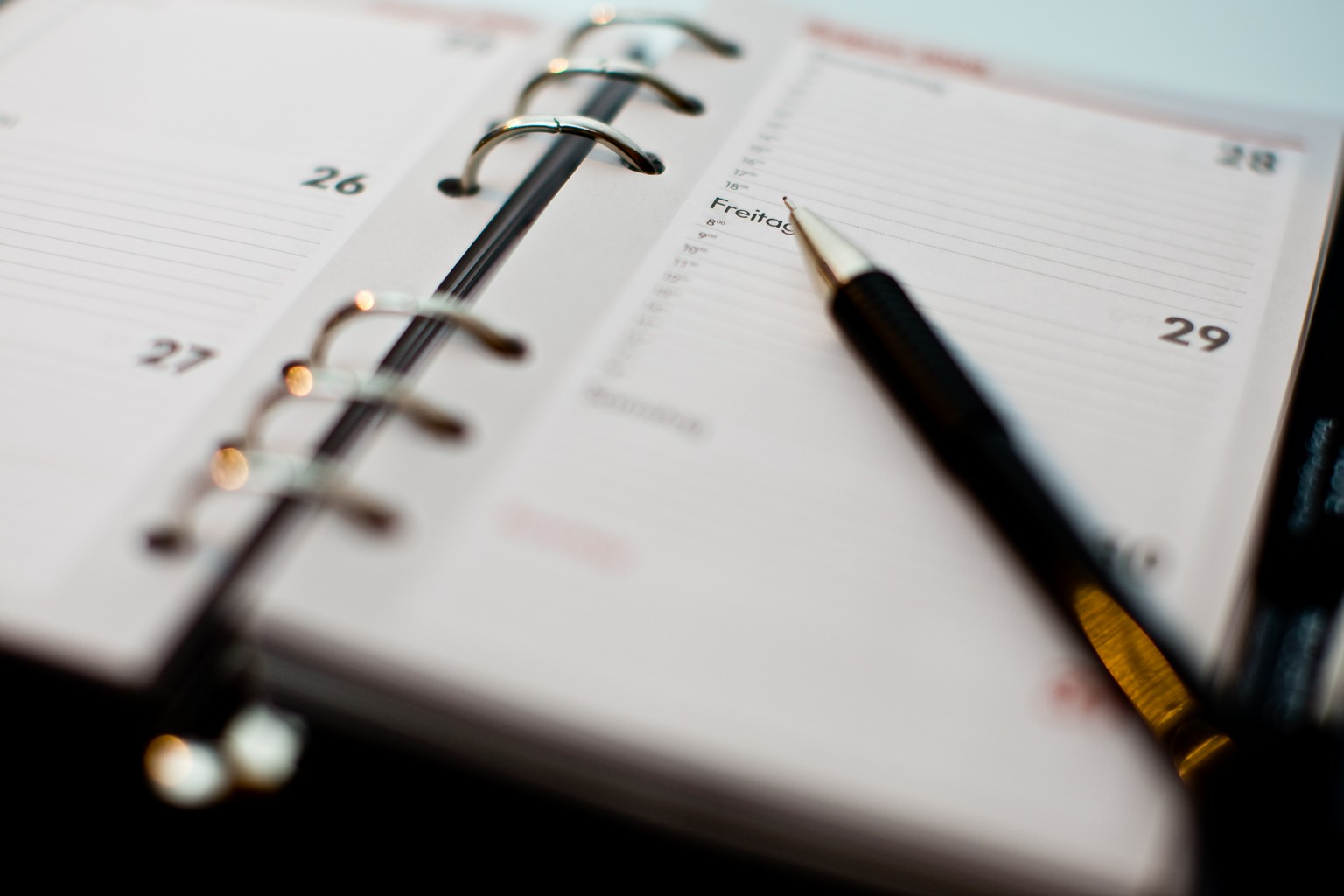 Agenda stylo