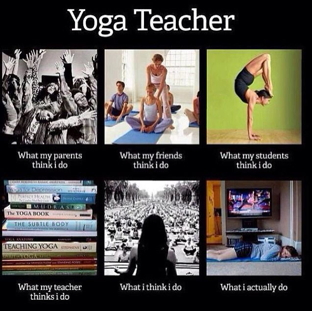 Yoga teacher